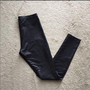 American Apparel Pants - American Apparel Leather Leggings